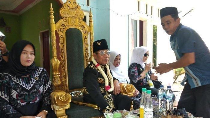 Pemimpin Kerajaan Angling Dharma di Pandeglang, Banten Baginda Sultan Iskandar Jamaludin Firdaus