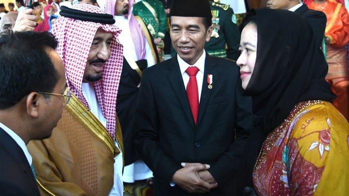 Sosok Ini yang Ditanyakan Raja Salman Saat Bertemu Jokowi di Istana