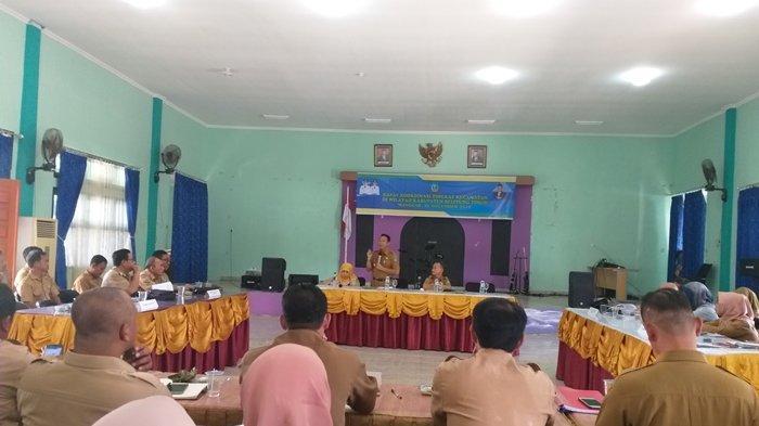 Hadiri Rakor, Para Camat Se-Kabupaten Belitung Timur Ungkapkan Berbagai Permasalahan
