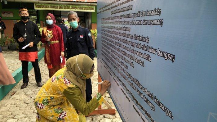 SDN 17 Tanjungpandan Deklarasikan Sebagai Sekolah Ramah Anak