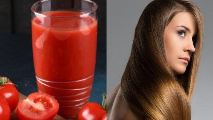 Ladies Wajib Tahu Nih! Cuma Oleskan Jus Tomat, Rambut Mendadak Berkilau bak Iklan Sampo