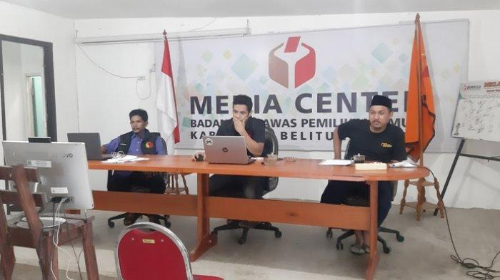 Panwaslu Kecamatan se-Belitung Timur Lakukan Rapat Perdana Pasca Diaktifkan Kembali