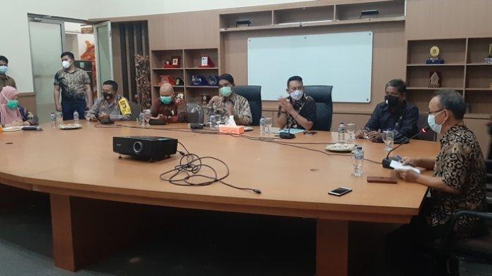 Begini Arahan Yuslih Ihza Saat Rapat Forkopimda Belitung Timur Bahas Lonjakan Kasus Covid-19