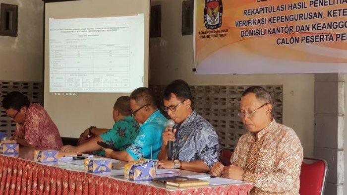 KPU Beltim Beri Ruang Publik untuk Tanggapi Usulan Rancangan Dapil