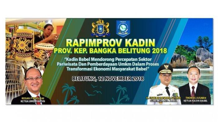 Rapimprov Kadin Babel 2018, Ada Seminar Digital Marketing untuk Pelaku Wisata dan UMKM