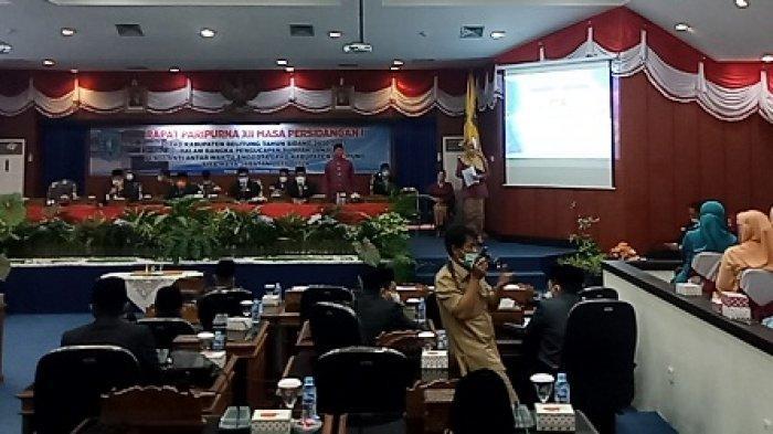 Maswandi Ganti Almarhum H Mastop Sebagai PAW Anggota DPRD Kabupaten Belitung