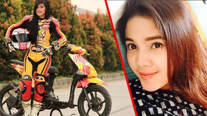 BIODATA Raya Kitty, Artis Cantik yang Ternyata Seorang Pembalap Motor