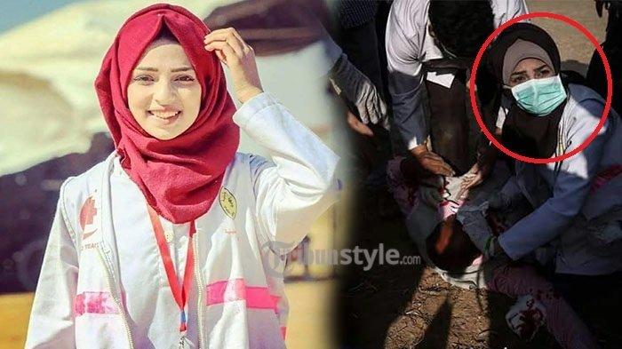 Inilah Detik-detik yang Diduga Perawat di Palestina Usai Ditembak, Videonya Viral!