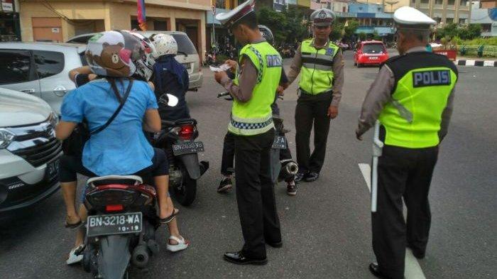 Razia Mulai 1 Maret, Ini Target Polisi Bagi Pengendara