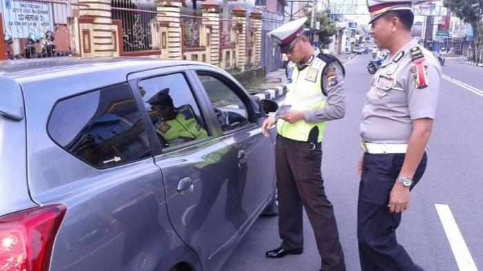 Satlantas Polres Belitung Belum Berlakukan E-Tilang, Masih Menunggu Arahan Mabes Polri