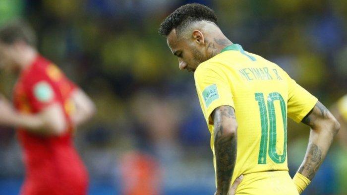 Brasil Vs Belgia - Pemain Inti Absen dan Tersingkir dari Piala Dunia, Ulangi Tragedi 2014