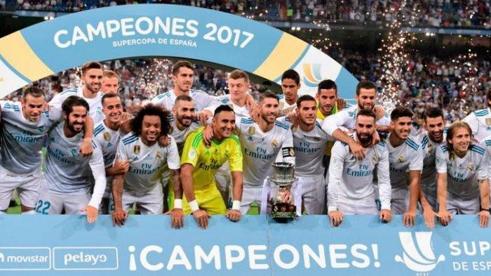 Piala Super Spanyol Real Madrid Vs Athletic Bilbao, Los Blancos Ngotot Pengin Final El Clasico