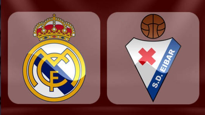 Nonton Live Streaming Real Madrid vs Eibar, Los Blancos Wajib Menang