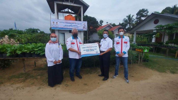 Bank Sumsel Babel Salurkan KUR ke Petani Belitung Timur