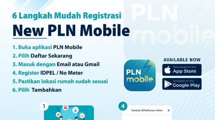 Enam Langkah Mudah Registrasi PLN Mobile