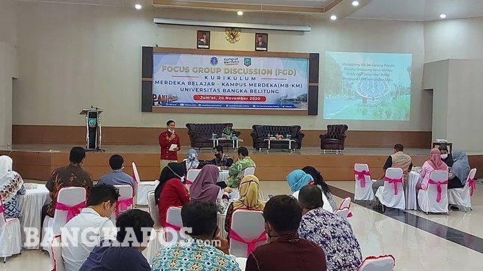 Rektor UBB Komitmen Bangun Sarana Akademik di Belitung Timur, Tunggu Kepastian Regulasi Pusat