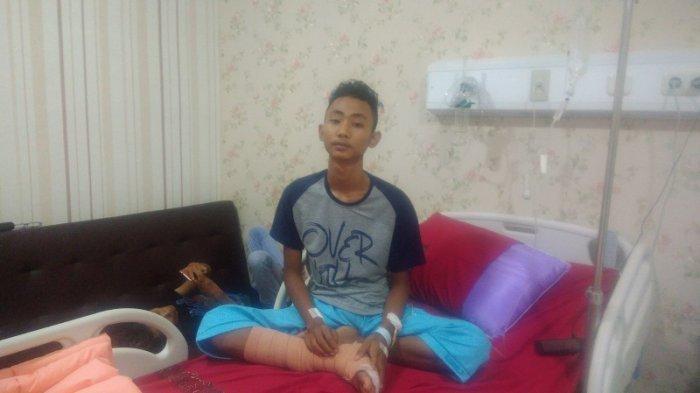 Kisah Remaja Penjual di Terminal, Menolong Polisi Malah Ikut Terkena Ledakan