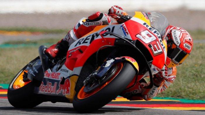 Ini Hasil Lengkap MotoGP Australia, Marc Marquez Ditabrak dari Belakang dan Gagal Finish