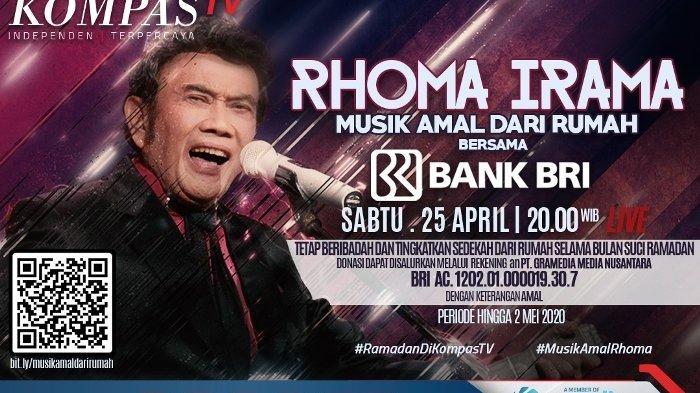 KompasTV Mempersembahkan Konser Amal Dari Rumah Bersama Sang Maestro Dangdut Indonesia Rhoma Irama