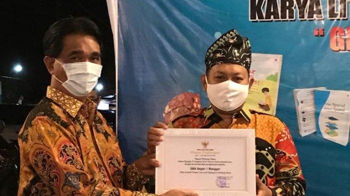 Bupati Yuslih Apresiasi Karya Buku Siswa SMA Negeri 1 Manggar, Pandemi Bukan Batasan Kreativitas