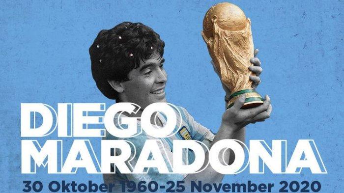 Diego Maradona, 30 Oktober 1960-25 November 2020