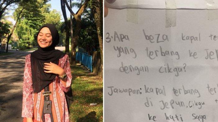 Bu Guru Cantik Ini Jadi Idola, Sudah 15 Murid Kirim Surat Cinta