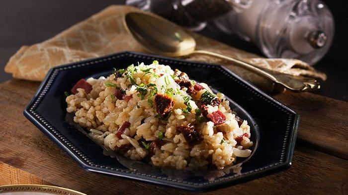 Mengenal Risotto, Nasi Creamy Khas Italia dan Beda Teknik Memasaknya dengan Sajian dari Beras Lain