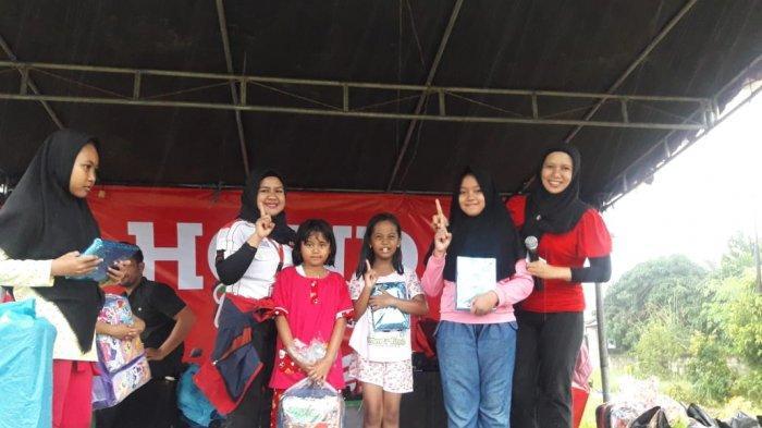 TDM Honda Belitung Roadshow di Kelurahan Lesung Batang
