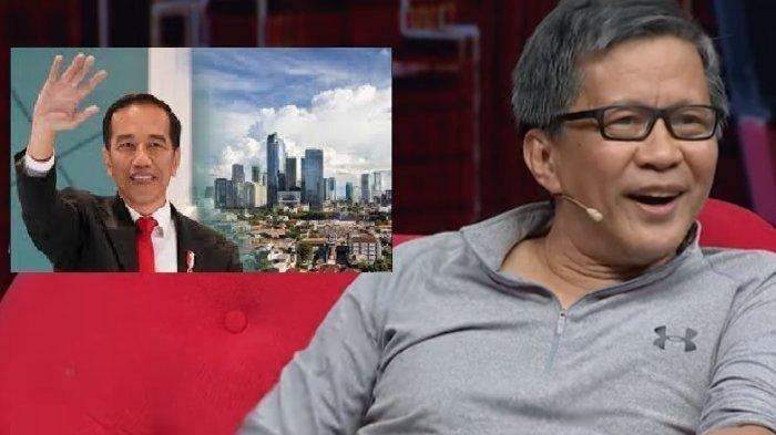 Reaksi Rocky Gerung saat Bahas Soal Survei Kinerja Jokowi: Kalau Bung Karno Baca, Mungkin Dirobek