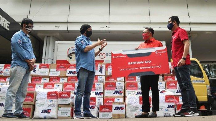 Telkomsel Salurkan Donasi dari Karyawan dan Jajaran Direksi, Bantu Masyarakat Hadapi Masa Pandemi