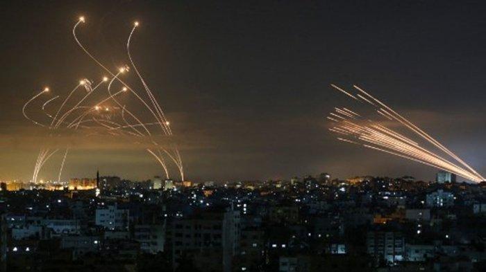 Pejuang Lebanon dan Suriah Bantu Palestina, Tembakkan 6 Roket ke Israel, Hizbullah: Bukan Kami