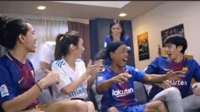 Masih Ingat Ronaldikin yang Mirip Ronaldinho? Kini Jadi Bintang Iklan di Luar Negeri, Makin Populer