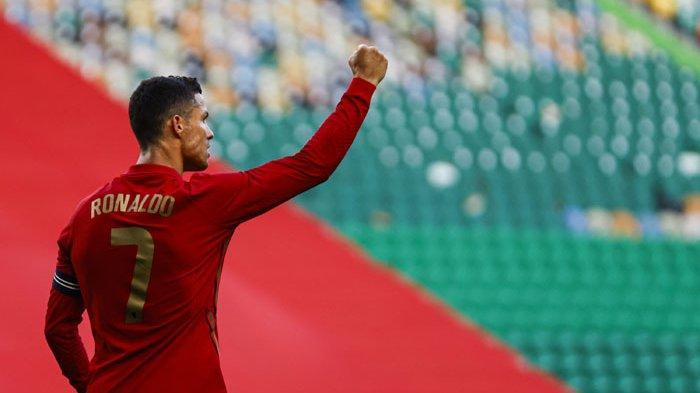 Cristiano Ronaldo Cetak Gol di Laga Portugal vs Israel, Makin Dekat Lewati Rekor Gol Legenda Iran
