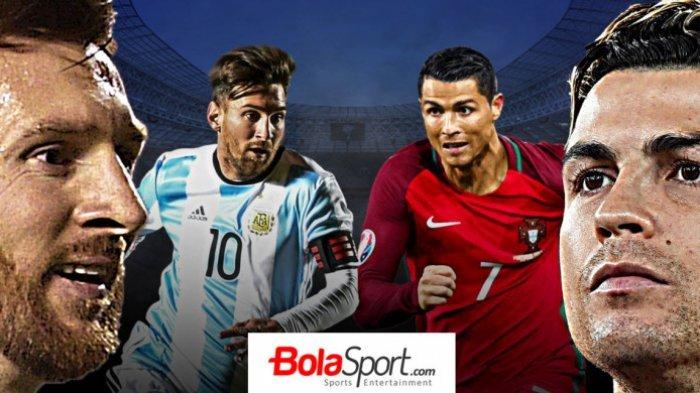 Sudah Menjalani Laga Perdana, Ini Perbandingan Penampilan Cristiano Ronaldo dan Lionel Messi