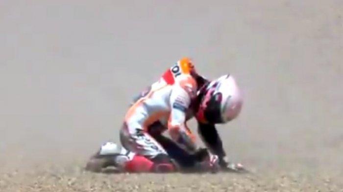 Kondisi Belum Fit, Honda Tak Izinkan Marquez Membalap di FP 1 dan FP 2