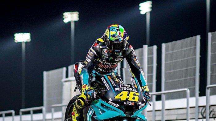 Balapan di Tengah Duka di MotoGP, Valentino Rossi: Keputusan Melanjutkan Balapan Sudah Tepat