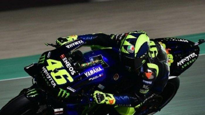 Valentino Rossi Bertekad Raih Podium di MotoGP Argentina