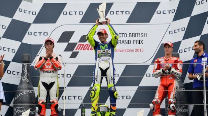 Jadwal Lengkap MotoGP Inggris 2016, Pekan Ini