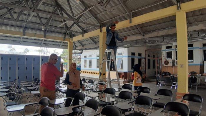 Server dan Ruang CAT BKPSDM Disegel, 3 Februati Tes SKD CPNS di Kabupaten Belitung Timur