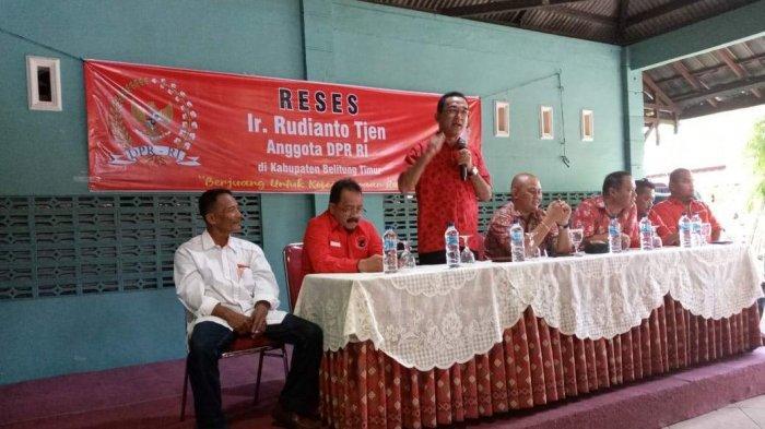 Rudianto Tjen Ajak Masyarakat Belitung Timur Sukseskan Program Pemerintah