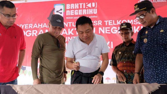 Telkomsel Hadirkan Baktiku Negeriku di Pulau Labengki