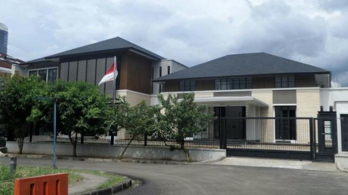 Foto Rumah Baru SBY - Keren Nih Bro, Arsitektur Bangunannya Bergaya Modern Kekinian