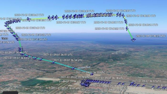 Pengin Lihat Rute 3D Sriwijaya Air SJ182? Google Earth Bisa Menampilkannya, Simak Caranya