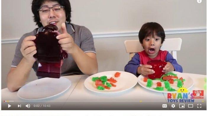 Inilah Ryan, Bocah 7 Tahun Yang Meraup Rp 314 Miliar Dari Youtube