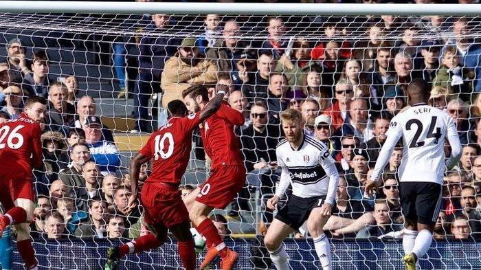 Menang Atas Fulham, Liverpool Kembali ke Puncak Klasemen Liga Inggris