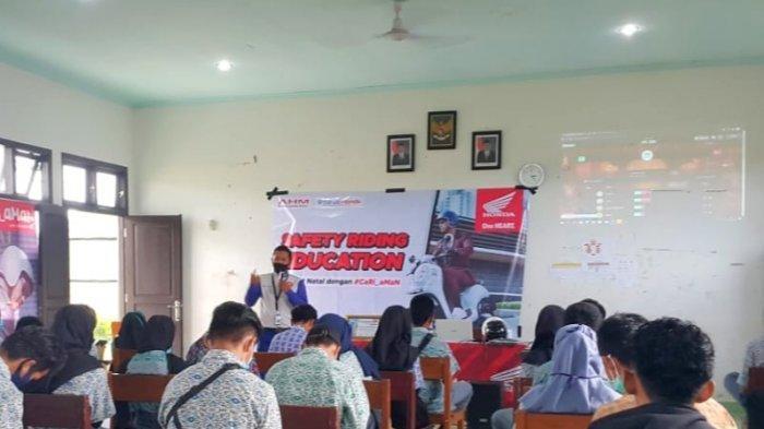 #Cari_Aman Bersama SMK N 1 Simpang Renggiang