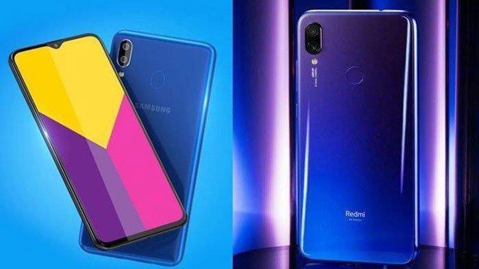 Ini Perbandingan Samsung Galaxy M10 yang Jadi Saingan Xiaomi Redmi 7, Harganya Rp 1 Jutaan