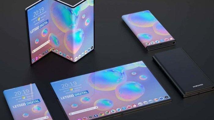 Samsung Galaxy Fold Z, Ponsel Lipat yang Dilengkapi Layar Super Jumbo