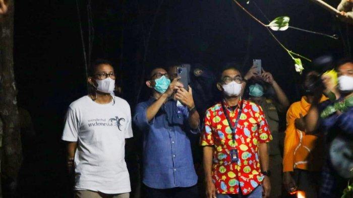 Menparekraf Sandiaga Uno Puas Lihat Tarsius Meski Hanya 45 Detik, Jaga Kelestarian Bukit Peramun