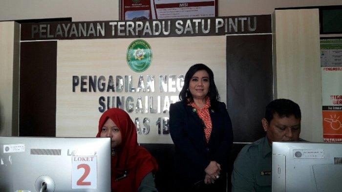 Ketua MA Resmikan Pengadilan Negeri di Koba dan Muntok
